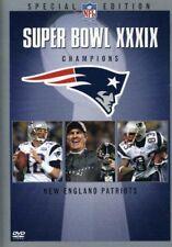 NFL Super Bowl Xxxix [New DVD]