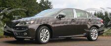 2013-2017 Lexus ES ES330 ES350 6Pc Chrome Pillar Post Stainless Steel