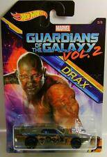 RIVITED GUARDIANS OF THE GALAXY VOL. 2 DRAX 2/8 HOT WHEELS DIECAST 2017