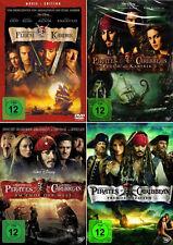 Fluch der Karibik 1 - 4 (Pirates of the Caribbean)                   | DVD | 440