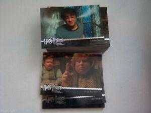 HARRY POTTER Prisoner of Azkaban Update Full 90 Card Base Set Trading Cards