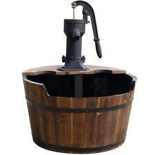 Ubbink Wasserspiel Newcastle mit Pumpe und Anschluss, Gartenbrunnen, Brunnen