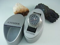 Citizen Promaster Eco Drive Chronograph WR 200 Solaruhr Alarm Herrenuhr