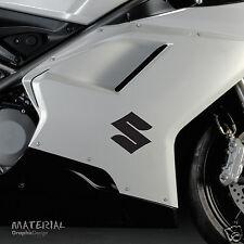 2x Suzuki Icon Logo Sticker Decal - Bike Vinyl Motorbike Motorcycle Race R GSX