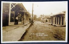 1920s HONDURAS Photo PC w/view of LA CEIBA PC Publisher Foto Valencia Studio