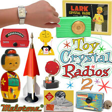 Vintage crystal radios full color book TOY CRYSTAL RADIOS volume 2, lots of fun!