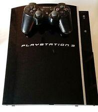 Console Sony PlayStation 3 PS3 Noir Fat + 1 Manette NTSC-J CECHH00 40 GO