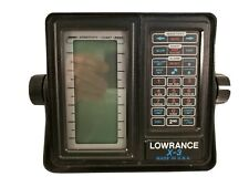 Lowrance X-3 Lcg Recorder Fishfinder with Eagle Xd-2 Transducer & Manuals Used