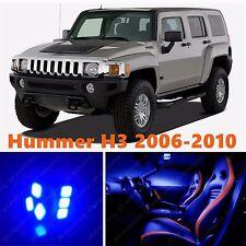13pcs LED Blue Light Interior Package Kit for Hummer H3 2006-2010