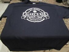 "St. Paul Fire Department T- Shirt - Blue - Large - ""Alary's Bar"" - 42-44"
