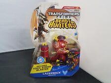LAZERBACK Transformers Prime Beast Hunters Deluxe Class Figure #3 Series 2 2012