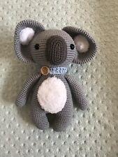 Hand Knitted Amigurumi Koala Doll