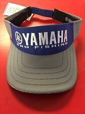 Yamaha Outboards Blue Grey Visor Fishing Hat Boating Bass Genuine CRP-15VPF-BL-N
