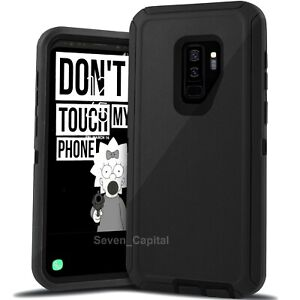 For Samsung Galaxy S9 S9+ Heavy Duty Rugged Shockproof Protective Hard Case
