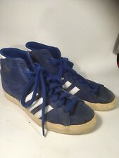 Addidas Blue Basket Pro Trainers Blue Size 71/2