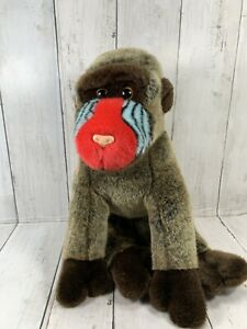 TY 2001 CHEEKS the BABOON GORILLA BEANIE BUDDY Good Condition No Tags