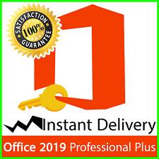 Office2019 Professional Plus Vollversion 32/64bit Pro Key MS Expressversand✅