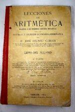 Lecciones de Aritmética / Dalmau Carles, José
