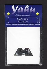 yma7206/ YAHU - PZL P.24 - Instrument panel - 1/72