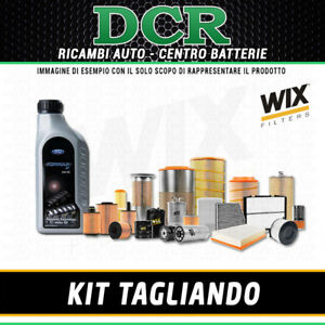 KIT TAGLIANDO FORD MONDEO III 2.0 TDCI 130CV 96KW DAL 10/01 AL 08/07 + FORD 5W30