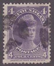 Newfoundland 1901 #84 Duchess of York F U HR