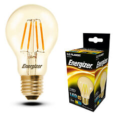 LED Filament B22 BC Bayonet Cap Energy Saving Round Light Bulb 4w=30w GLS Globe