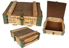 Cassetta trasporto Scatola legno usato Shabby Chic scatola Contenitore di vino