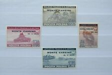 Poland Stamps - Overprints - Small Collection - E12