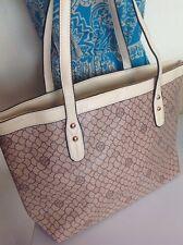 BURGUNDY Designer Print SHOULDER BAG Gold Studded Women's Large Designer Look