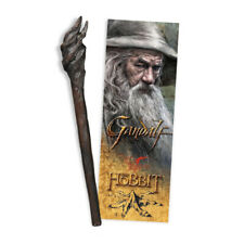 The Hobbit: Gandalf the Grey Staff Pen and Paper Bookmark (New)