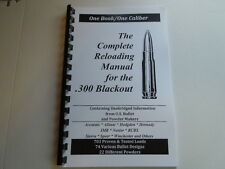.300 Blackout  The Complete Reloading Manual Load Books Latest Version