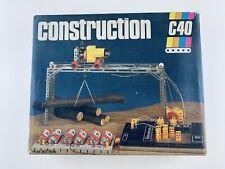 Metallbaukasten DDR construction constructo C40 Elektrobaukasten Lernspielzeug