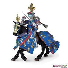 Duke of Bourbon Knight w/ Horse Quality PVC Figurine HandPainted Safari S62021-2