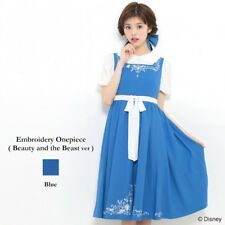 Secret Honey Embroidery Dress One Piece Beauty And The Beast Bell