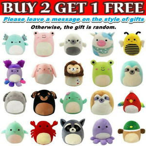 Squishmallow Plush Toy Cuddle Squeeze Doll Soft Pillow Stuffed Cushion 7-Inch AU