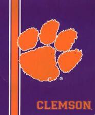 """Clemson Tigers 50"""" x 60"""" Sherpa Super Soft Blanket by Northwest"""