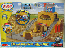Thomas & Friends - Take & Play - RUMBLING GOLD MINE RUN - Portable Playset