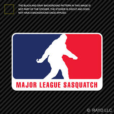 Major League Sasquatch Sticker Decal Self Adhesive Vinyl Mls bigfoot