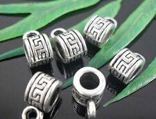 30pcs Tibetan Silver Charms Pendants 10x5mm  (Lead-free)