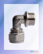 Coude à visser Mâle pour tuyau Alpex Multicouche - Chauffage / sanitaire