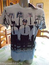 tee shirt police KANABEACH toh gu T L NEUF ÉTIQUETTE
