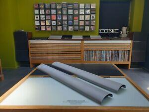Bang & Olufsen Original BeoLab 1 speaker Pair of Silver Frets B&O