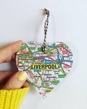 Heart Map Christmas Decoration - Choose the map