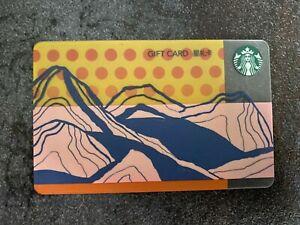 Starbucks Card China w/ Pin Intact