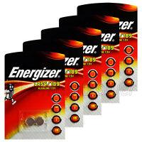 10 x Energizer Alkaline LR54/189 batteries 1.5V 389A LR1130 AG10 A120