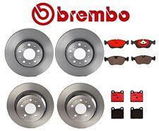 For Volvo C70 S70 V70 Front Rear Full Brembo Brake Kit Disc Rotors Ceramic Pads