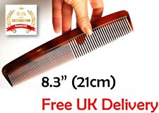 NEW Large Plastic Dressing Hair Comb with fine & coarse tooth Shower Gym Comb UK