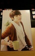 Infinite woohyun season greeting official postcard kpop k-pop rare oop inspirit