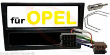 Radioblende SET ISO OPEL Corsa C / Combo / Omega B Astra G NEU in Farbe Schwarz