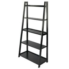 Winsome Adam 5-Tier A-Frame Shelf, Black - 20513